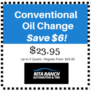 Discount Coupon Oil Change