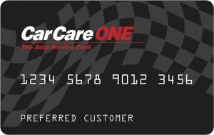 CarCareONE card